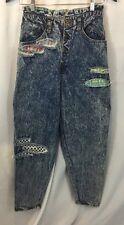 GET USED by ELIE Vintage 90s High Waisted Acid Wash Tapered Hip Hop Jeans Sz.27