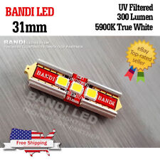 2X BANDI 31mm Samsung LED 2835 Car Interior Lamp Light Bulbs DC12V High Power