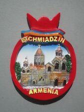 Etchmiadzin Cathedral Armenia  -  3D  FRIDGE MAGNET SOUVENIR