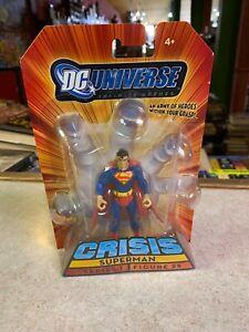 "Mattel DC Universe 4"" Action Figure NIP - Crisis SUPERMAN Series 1 Figure 25"