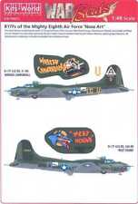 Kits World Decals 1/48 B-17F FLYING FORTRESS Wabash Cannonball & Meat Hound