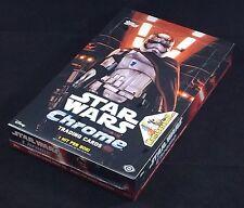 2016 Topps Star Wars The Force Awakens Chrome Factory Sealed Hobby Box, 24 packs