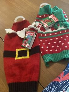2 NWT Sweaters For XS Dog