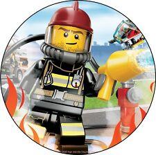 Lego  Deco Gateau Disque Azyme Comestible Anniversaire 20cm