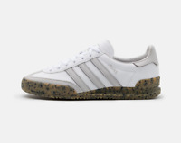 adidas Originals Jeans Mens Trainers in White and Gum Leather Shoes All Sizes