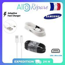 Samsung Câble Original Galaxy S2 S3 S4 S6 S6 Edge S7, Micro-USB EPDG925UWZ