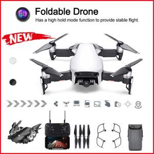 Profi Faltbar WiFi FPV-Selfie-RC-Drohne 4K Kamera Quadcopter mit Echtzeit-Video