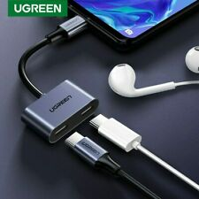 Ugreen 2 in 1 Type C to Digital USB C Earphone Audio Splitter Charging Adapter