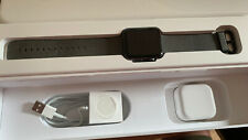 Apple Watch Series 1 42mm Space Grey Aluminium Case Black Sport Band -...