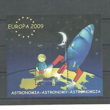 KOSOVO 139 2009 Europa cept Astronomy block MNH