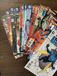 Comic Books Blue Beetle 1-16 0 NM 2011 Giffen #3 52 Booster Gold Superman VF 2 3
