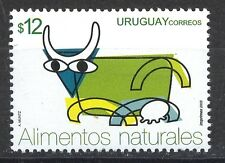 NATURAL FOOD DAIRY MILK COW URUGUAY Sc#2004 MNH STAMP