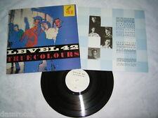 LP - Level 42 True Colours - UK OIS 1984 # cleaned