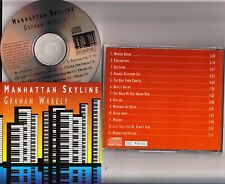 GRAHAM WAKELY- Manhattan Skyline Yamaha El90/CLP124/Roland U20 SC55 Organ CD