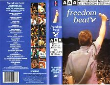 FREEDOM BEAT Artists Against Apartheid UK Festival 1986 Rare VHS Video