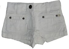 Marie Chantal White Denim Cotton Shorts  Age 3 NWOT