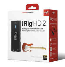 IK Multimedia iRig HD 2 - Studio Quality Guitar Audio Interface for iOS/MAC/PC