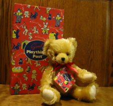 """Gund """"Playthings Past"""" Collection #9550 GOLDEN MOHAIR BEAR, 11"""" Jointed NEW/Tag"""