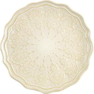 Pioneer Woman Farmhouse Lace Linen Salad Plate 11135154