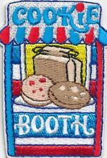 Boy Girl COOKIE BOOTH Blue Sales selling Fun Patches Crest Badges GUIDE/ SCOUT
