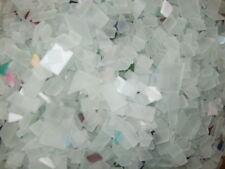 3 POUNDS  BEACH GLASS Mosaic Tile Craft HANDCUT GLASS ART SUPPLIES made in USA