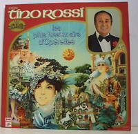 """33 tours TINO ROSSI LP 12""""+ BEAUX AIRS D'OPERETTES RARE"""