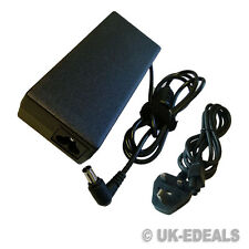 Laptop AC Charger for Sony Vaio VGP-AC19V27 VGP-AC19V33 90W + LEAD POWER CORD