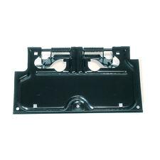 LICENSE PLATE DOOR BRACKET BLACK POWDER COATED JEEP WRANGLER YJ 1987-1995 NEW