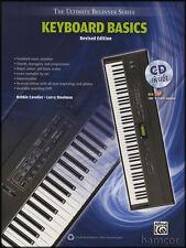 Teclado básico Edición revisada música Libro/cd última serie de principiante