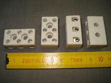1 domino porcelaine 3 plots 220 ou 380 volts