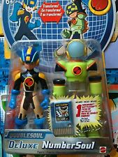 Megaman Figure Numbersoul Number Deluxe Doublesoul Transforms NT Warrior Chip