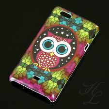 Sony Xperia Miro ST23i Hard Case Handy Schutz Hülle Cover Etui Große Eule Owl