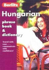 Hungarian Phrase Book & Dictionary (Berlitz Phrase Books)-ExLibrary