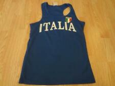 Women's Italy XL Tank Top (Royal Blue) Italia T-Shirt