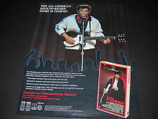 LA BAMBA The Rirchie Valens story PROMO POSTER AD for the movie from 1987 MINT