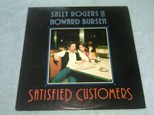 Satisfied Customers LP Sally Rogers Howard Bursen 1984 Thrushwood Lyric Sheet