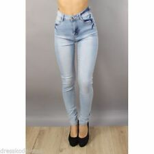Cotton Coloured Mid Rise Jeans for Women