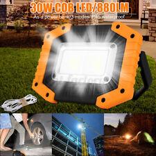 Portable 30W COB Work Light Emergency LED Flood Hiking Lamp USB   PN1