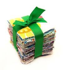 "200  piece pre cut charm pack 2.5"" squares scrappy fabric quilt scrap sew cotton"