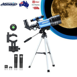 70300 Telescope for Beginner with Tripod Phone Adapter Moon Watching Kids Gift