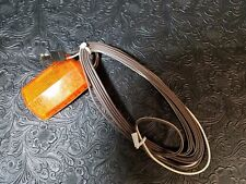 Side Marker Light Amber Clearance WESBAR pre-wired 15' harness stick on NEW