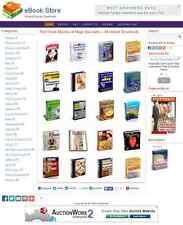 eBook/Download Shop Website For Sale