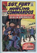 SGT. FURY and his HOWLING COMMANDOS #35 Marvel 1964 Silver Age Lee Ayers Ditko
