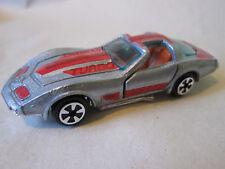 1981 Kidco 1:60 Silver 1978 Chevy Corvette 25th Anniversary SE Car (Mint)
