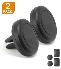 2 Pack Magnetic Car Mount Air Vent Stand GPS Cell Phone Holder iPhone 8 7 Plus