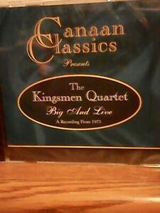 Kingsmen Quartet (Canaan Classics Big&Live) cd Southern Gospel 1998 Brand New