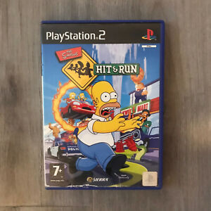 PS2 The Simpsons Hit & Run Game