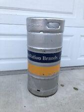 1/4 Barrel Used Empty Beer Keg - Stainless Steel - 7.75 Gallon - Sankey D Tap