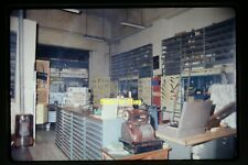 Hardware Tool Store in Italy & Cash Register in 1970, Original Slide aa 1-11a