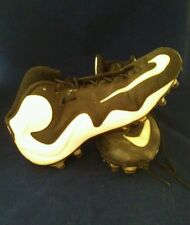 Mens NIKE Flyposite Cleats B&W US Size 12.5 Athletics Sports Kicks Good Cond SG
